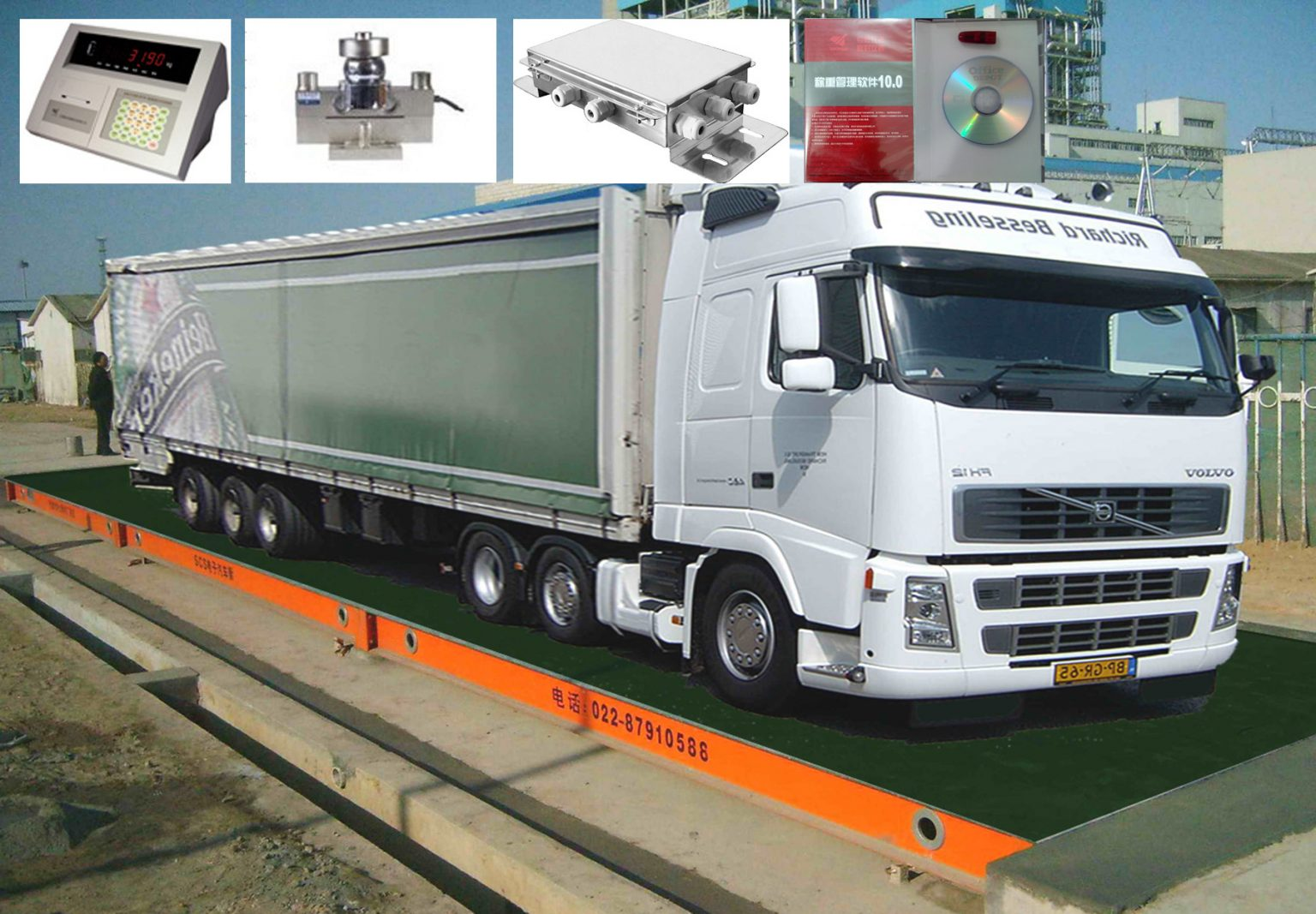 Chinese Weighbridges / Truck Scales.